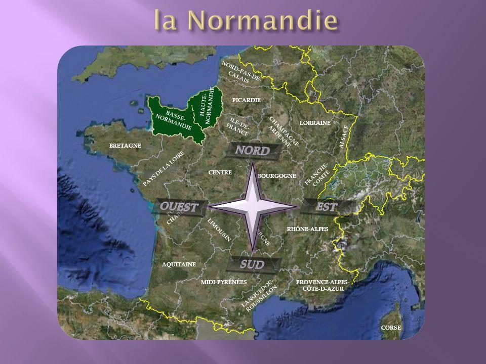 BRETAGNE BASSE- NORMANDIE HAUTE- NORMANDIE PAYS DE LA LOIRE CENTRE ILE-DE- FRANCE CHAMPAGNE- ARDENNE BOURGOGNE FRANCHE- COMTÉ POITOU- CHARENTES LIMOUSIN AQUITAINE MIDI-PYRÉNÉES LANGUEDOC- ROUSSILLON AUVERGNE RHÔNE-ALPES PROVENCE-ALPES - CÔTE-D-AZUR PICARDIE NORD-PAS-DE- CALAIS LORRAINE ALSACE CORSE