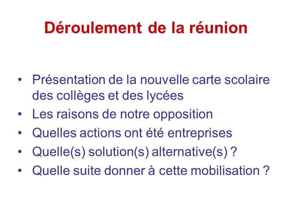 « lettre-pétition » à envoyer aux élus locaux Recours TA Concertation avec d autre écoles (Carmes) Les médias .