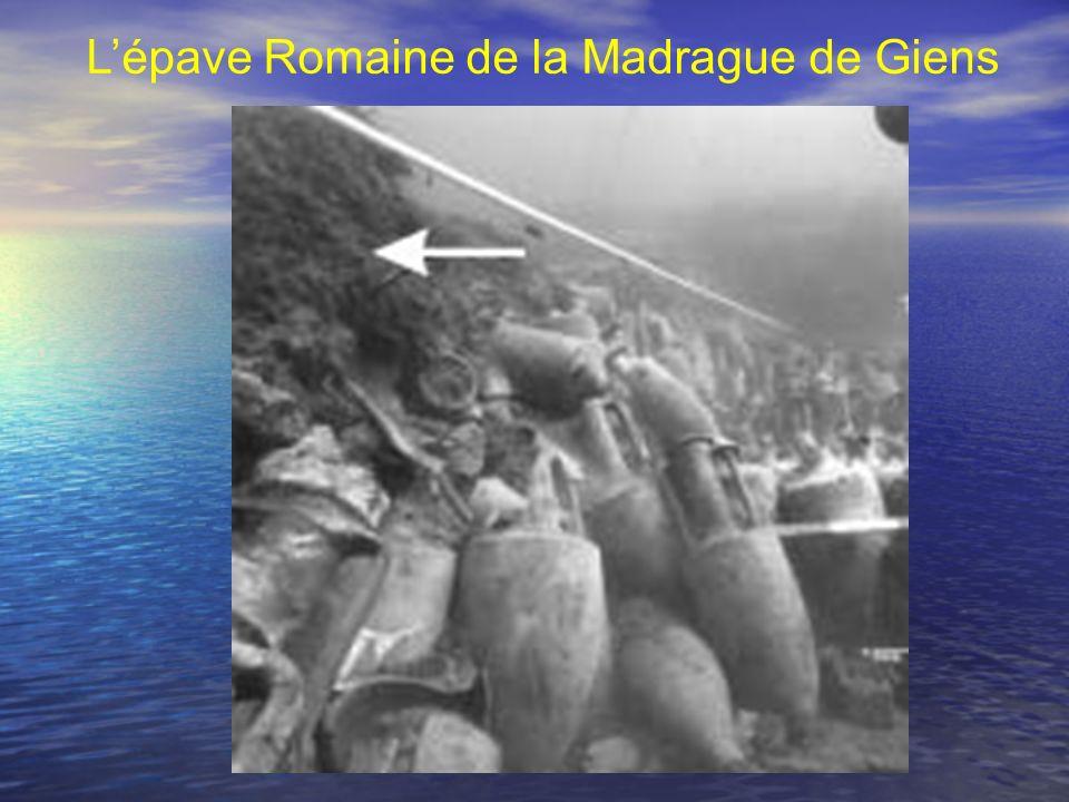 Lépave Romaine de la Madrague de Giens