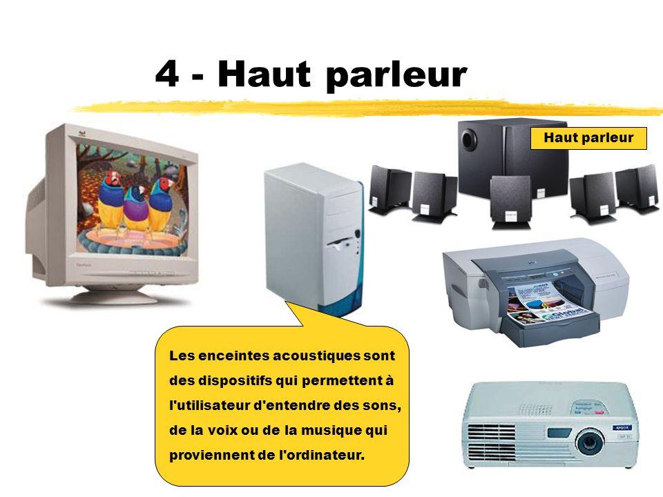 3 - Vidéo projecteur Le projecteur électronique permet de projeter sur un écran géant ce qui s affiche à l écran du moniteur.
