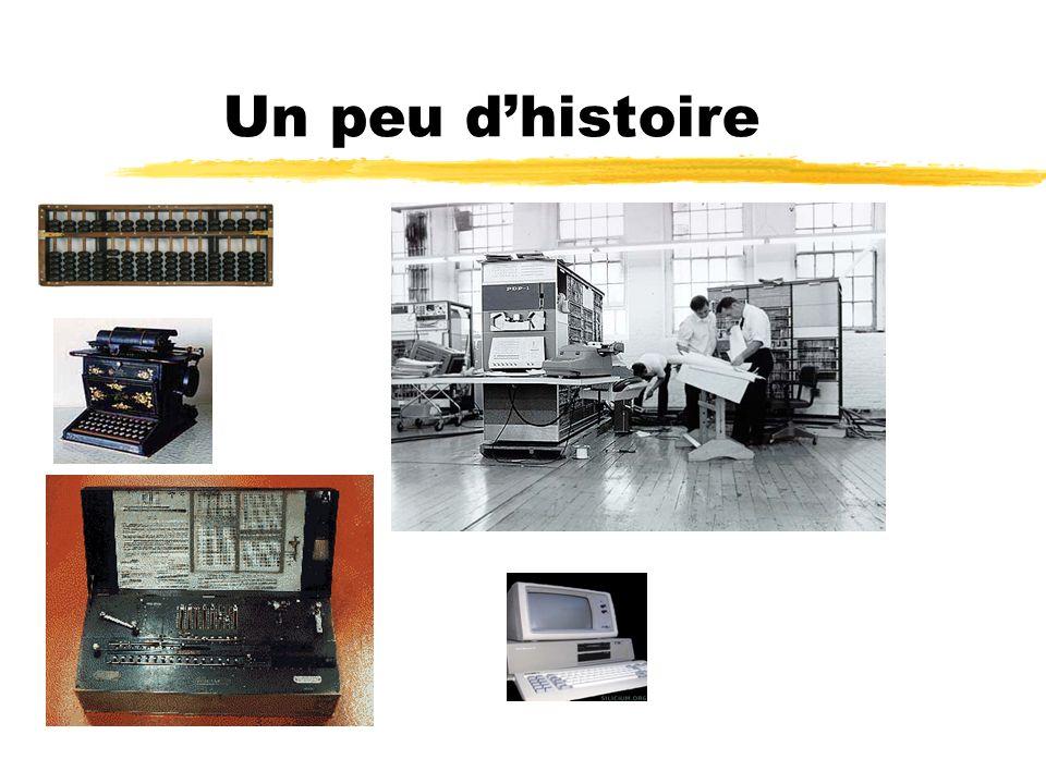z Lordinateur est une machine électronique programmable destinée à traité linformation dune façon plus efficace que lhomme I - Définitions zLinformatique est une science du traitement automatique de linformation