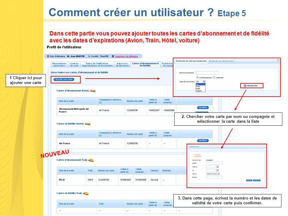 Comment créer un utilisateur .Etape 5 NOUVEAU 2.