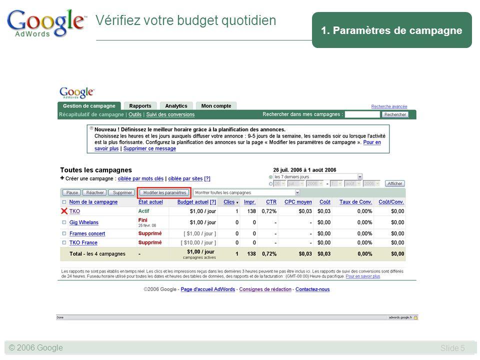 SLIDE 36© GOOGLE 2004 © 2006 Google Slide 36 4. La facturation Paiement - Virement en cours
