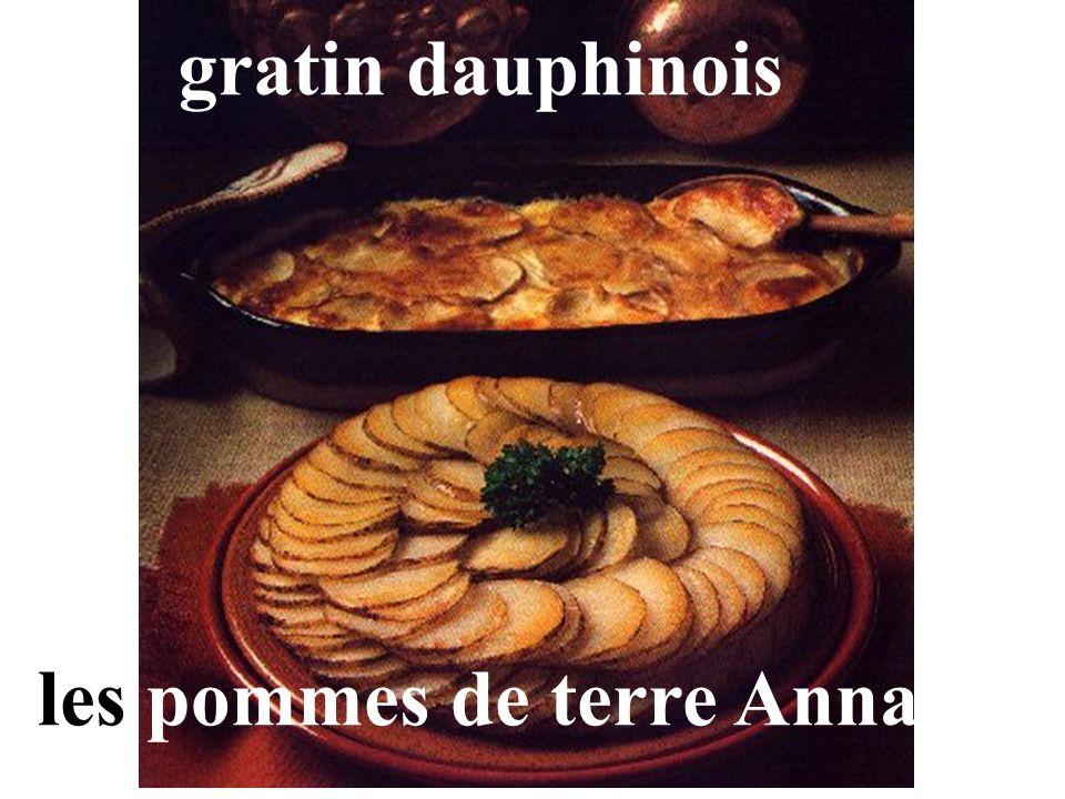 gratin dauphinois les pommes de terre Anna