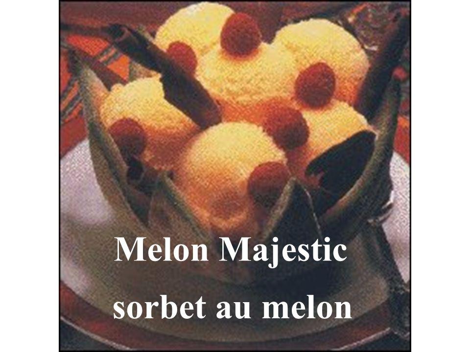 sorbet au melon Melon Majestic