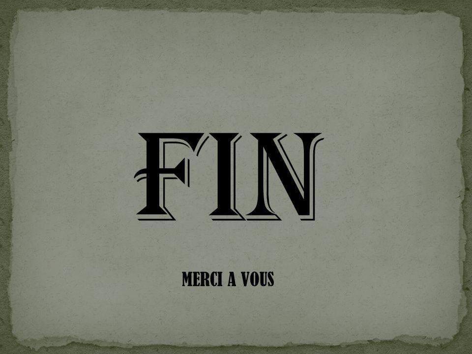 FIN MERCI A VOUS
