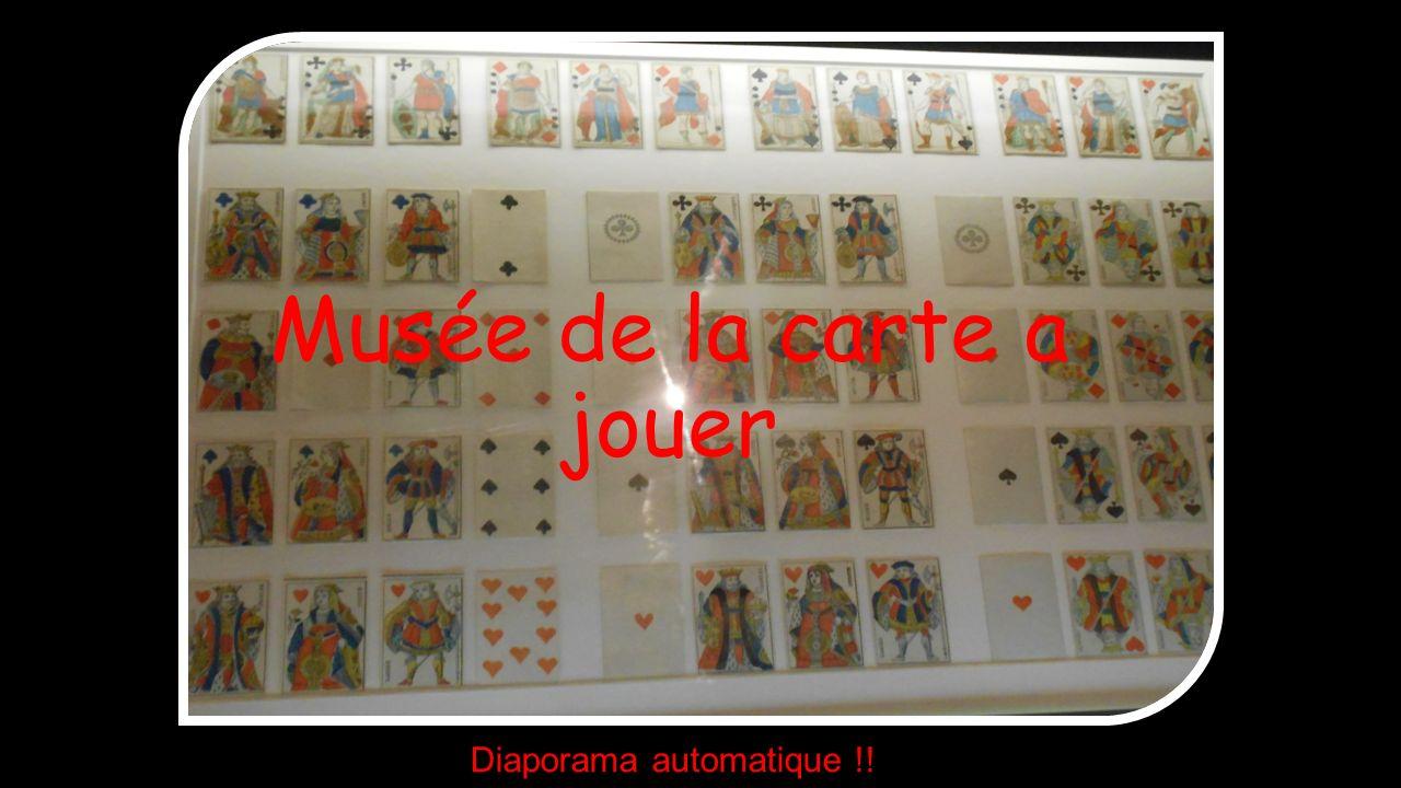 Musée de la carte a jouer Diaporama automatique !!