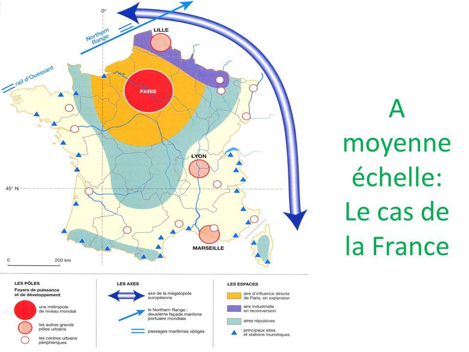 A moyenne échelle: Le cas de la France