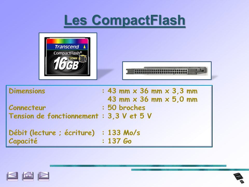 Les CompactFlash