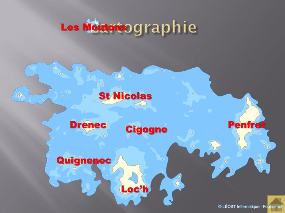 Penfret Loch Les Moutons St Nicolas Drenec Cigogne Quignenec