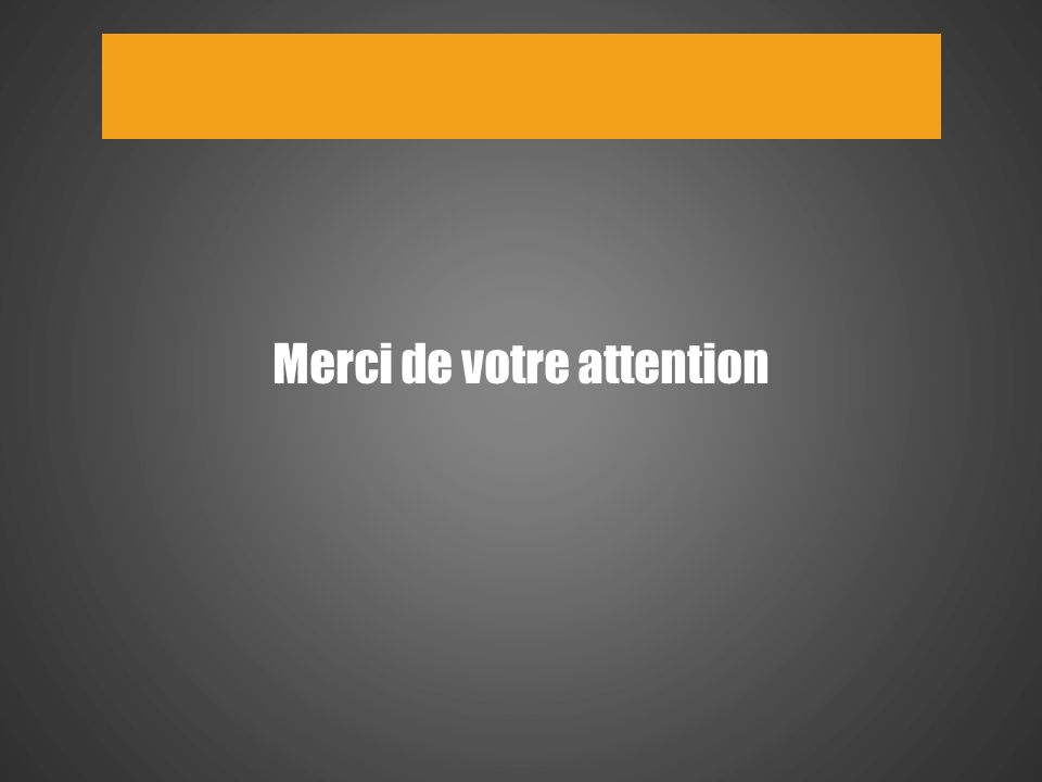 18 Merci de votre attention