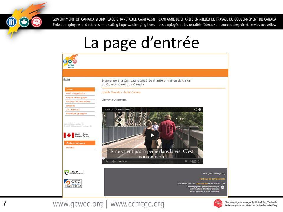 La répartition du don Les trois organismes bénéficiaires de la CCMTGC, dans la région de la capitale nationale, sont : – Centraide Ottawa – Centraide Outaouais – Partenairesanté 38 $200.00