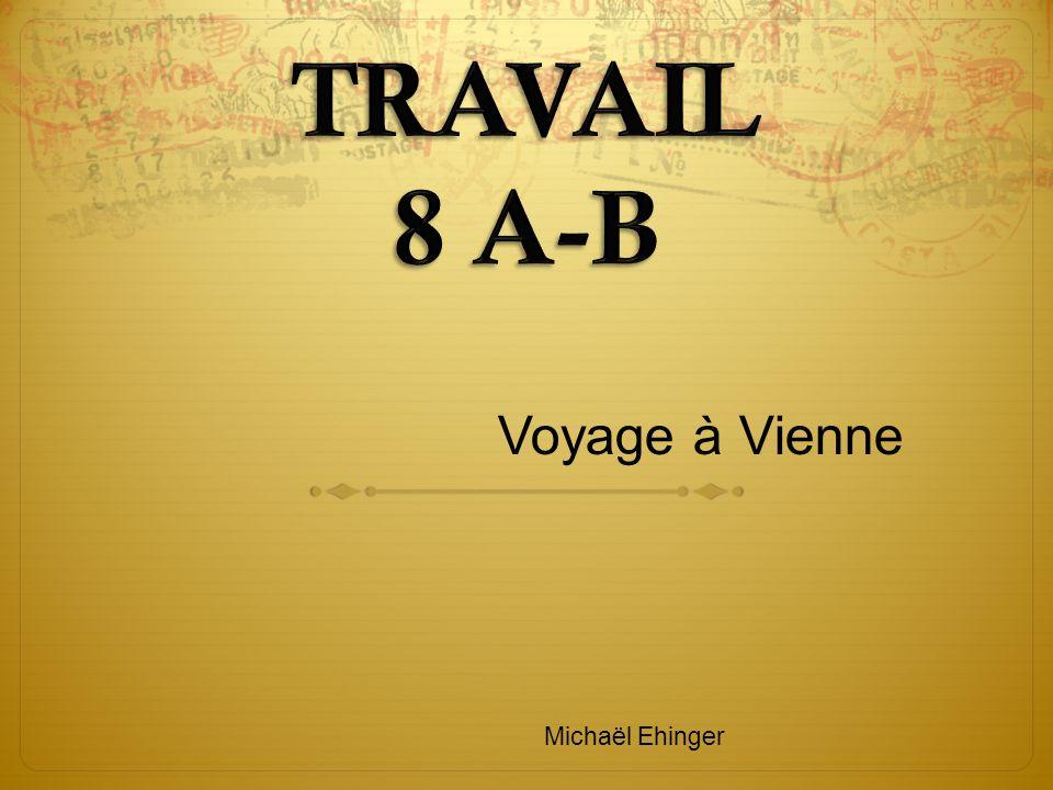 Voyage à Vienne Michaël Ehinger