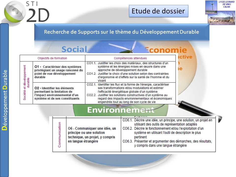Formulation dhypothèsesclasse entière1h 2 profs Quelles sont les solutions mises en œuvre dans notre lycée afin de satisfaire la notion de développement durable.