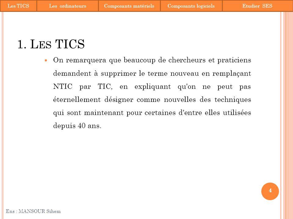35 Ens : MANSOUR Sihem Contact: sihemmansour@yahoo.fr