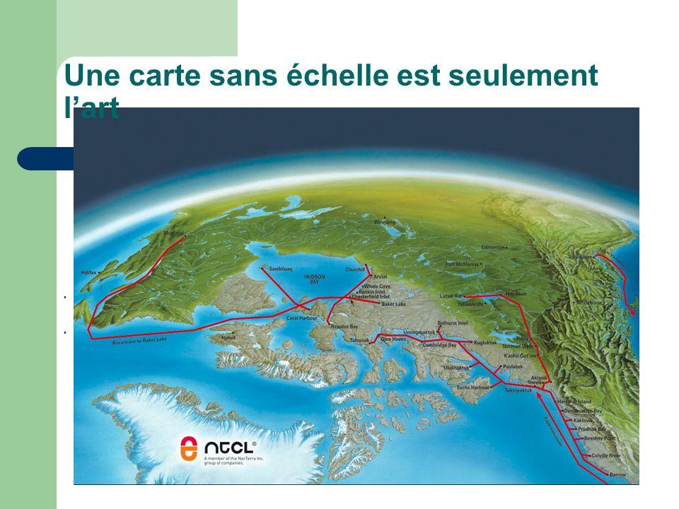 Une carte sans échelle est seulement lart http://www.ntcl.com/images/map.jpg