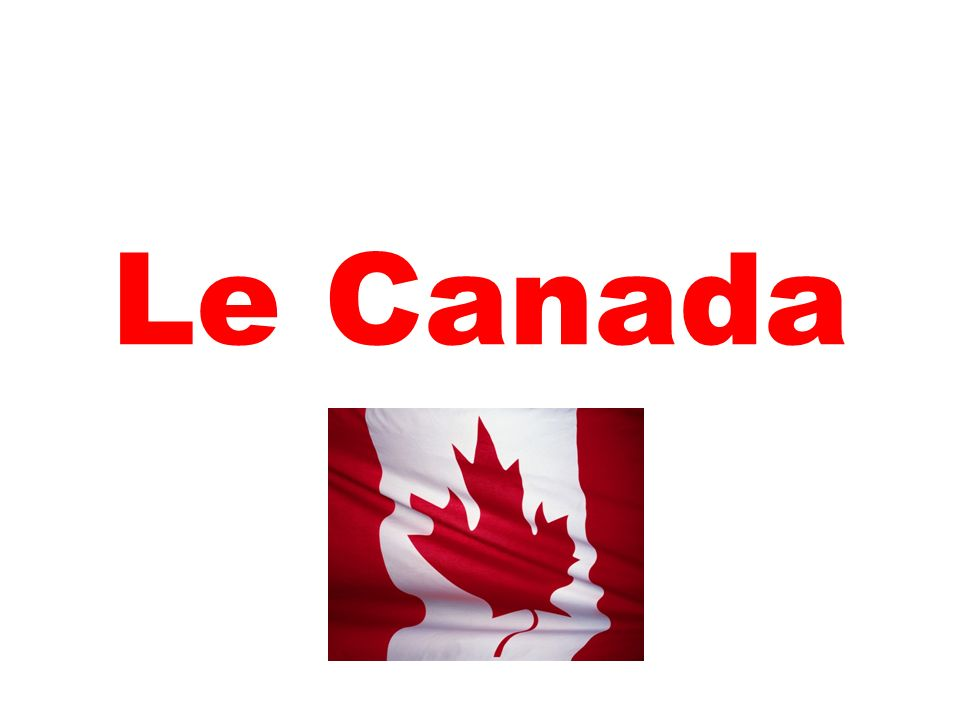 Le Canada fait partie de lAmérique du Nord.Il est situé au nord de ce continent.