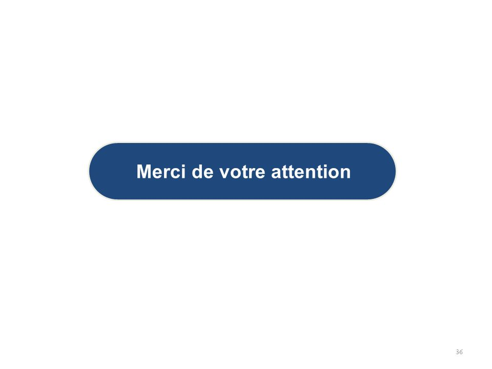 36 Merci de votre attention