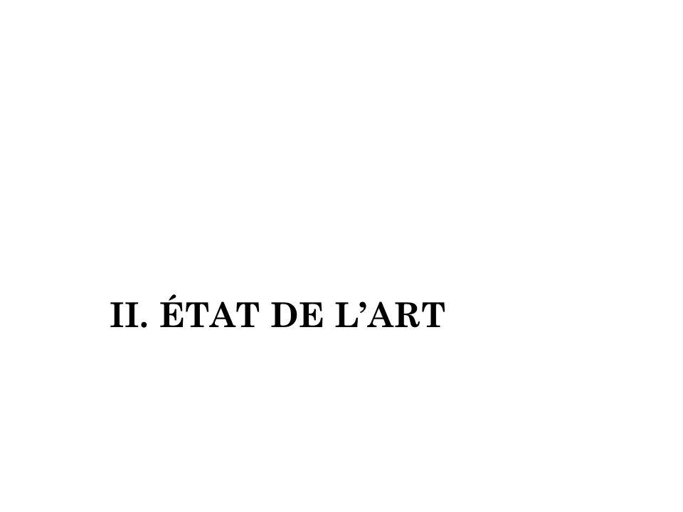 II. ÉTAT DE LART