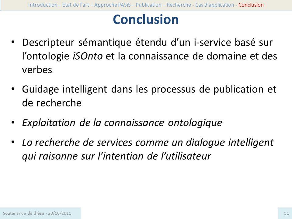 Descripteur sémantique étendu dun i-service basé sur lontologie iSOnto et la connaissance de domaine et des verbes Guidage intelligent dans les proces
