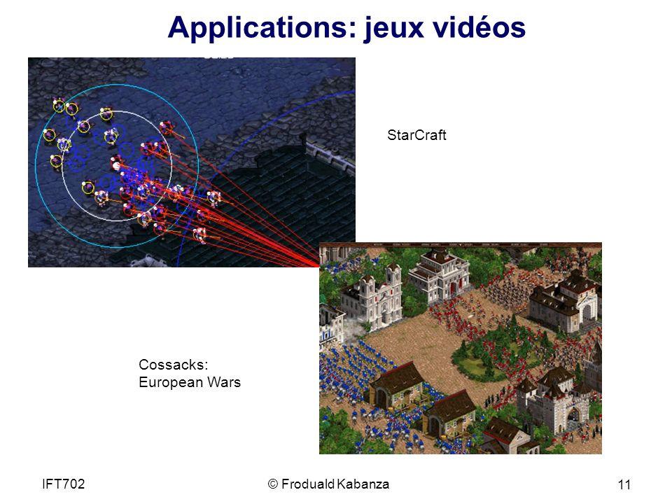 StarCraft Cossacks: European Wars Applications: jeux vidéos © Froduald KabanzaIFT702 11