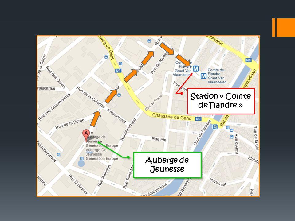 Auberge de Jeunesse Station « Comte de Flandre »