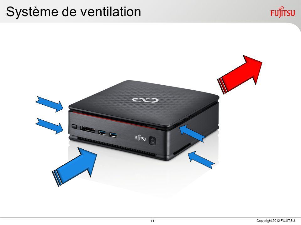 Copyright 2012 FUJITSU Système de ventilation 11