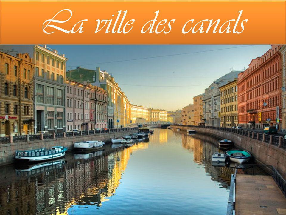 La ville des canals