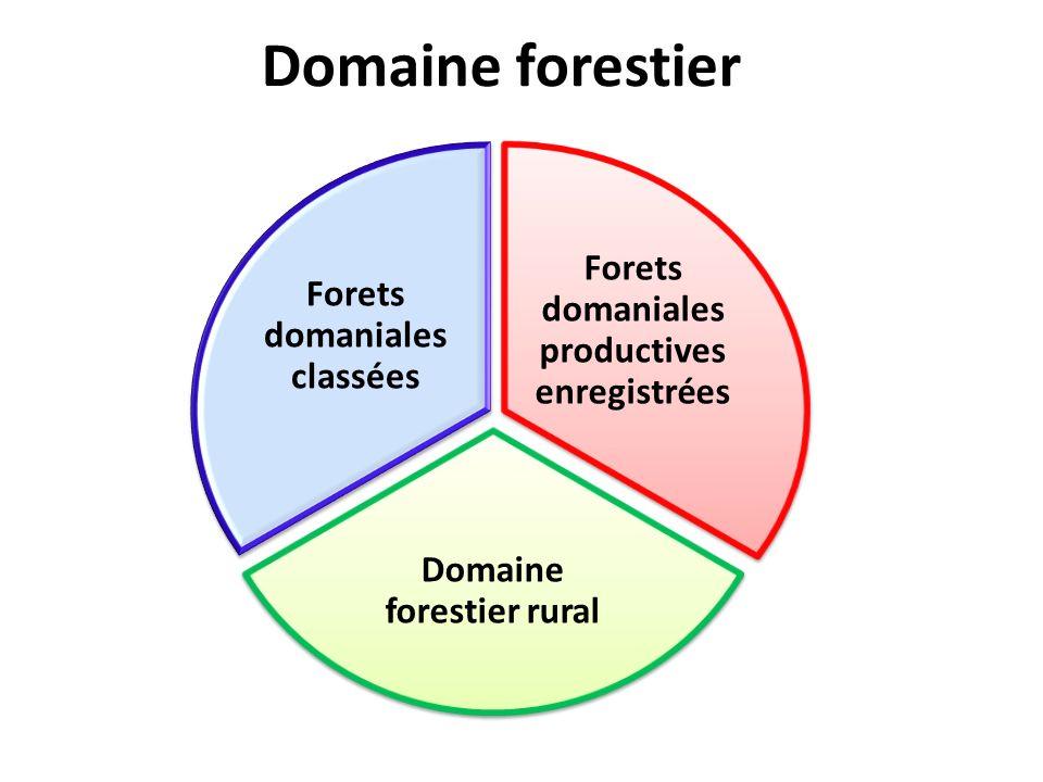 Différents types de permis Permis de Gré à Gré (PGG):- Nationaux; - Transformation locale; - Max 50 pieds darbres; Permis de Gré à Gré (PGG):- Nationaux; - Transformation locale; - Max 50 pieds darbres; Permis Forestier Associé (PFA): - Nationaux; - Exploitation; - Entre 15.000 et 50000 hectares Permis Forestier Associé (PFA): - Nationaux; - Exploitation; - Entre 15.000 et 50000 hectares Concession Forestière sous Aménagement Durable (CFAD): - Toutes personne physique ou morale; - Aménagement et transformation locale; - Entre 50.000 et 200.000 hectares.