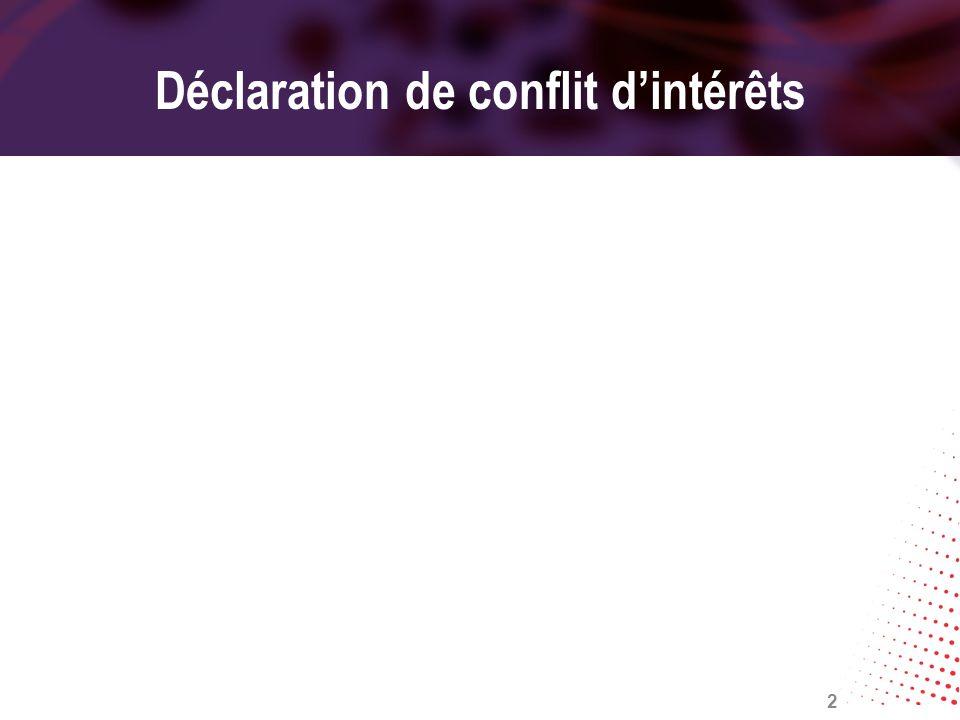 Déclaration de conflit dintérêts 2
