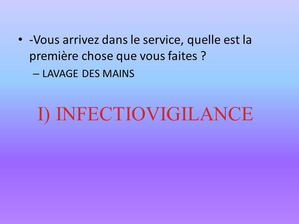 Madame V reçoit des médicaments Y a-t-il des effets indésirables inattendus ? II)PHARMACOVIGILANCE