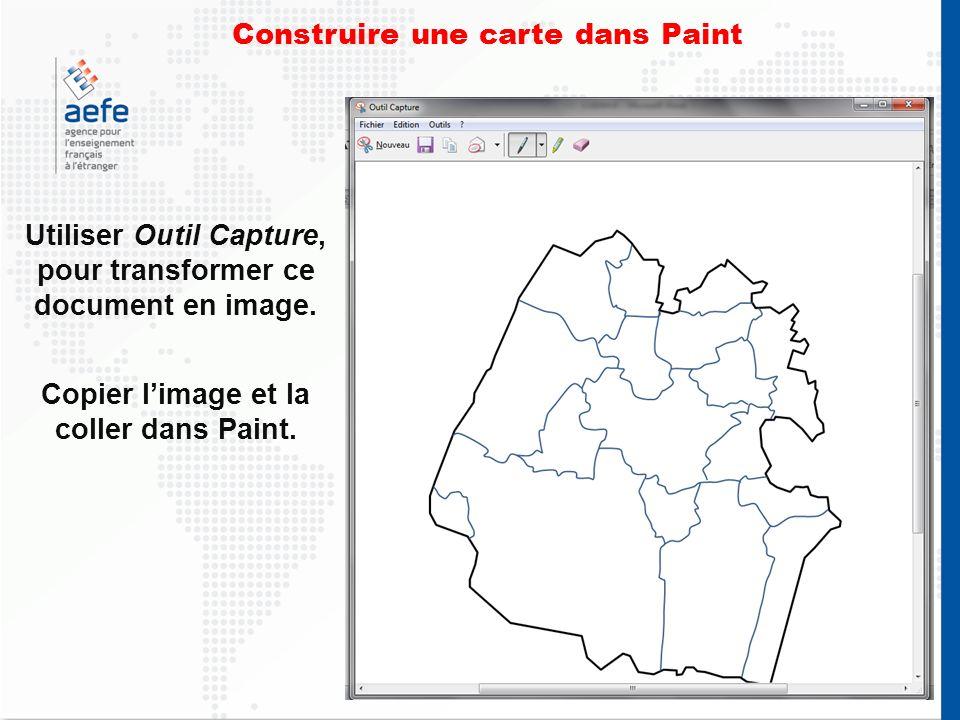 Utiliser Outil Capture, pour transformer ce document en image.
