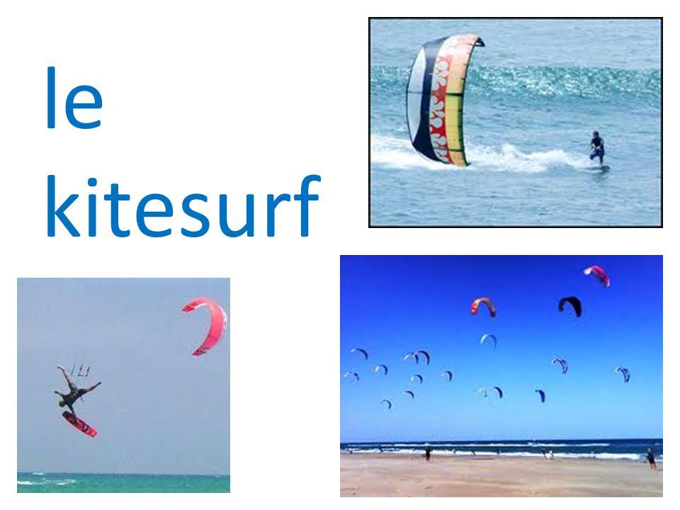 le kitesurf