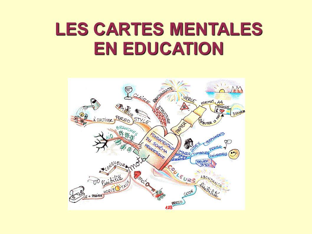 LES CARTES MENTALES EN EDUCATION