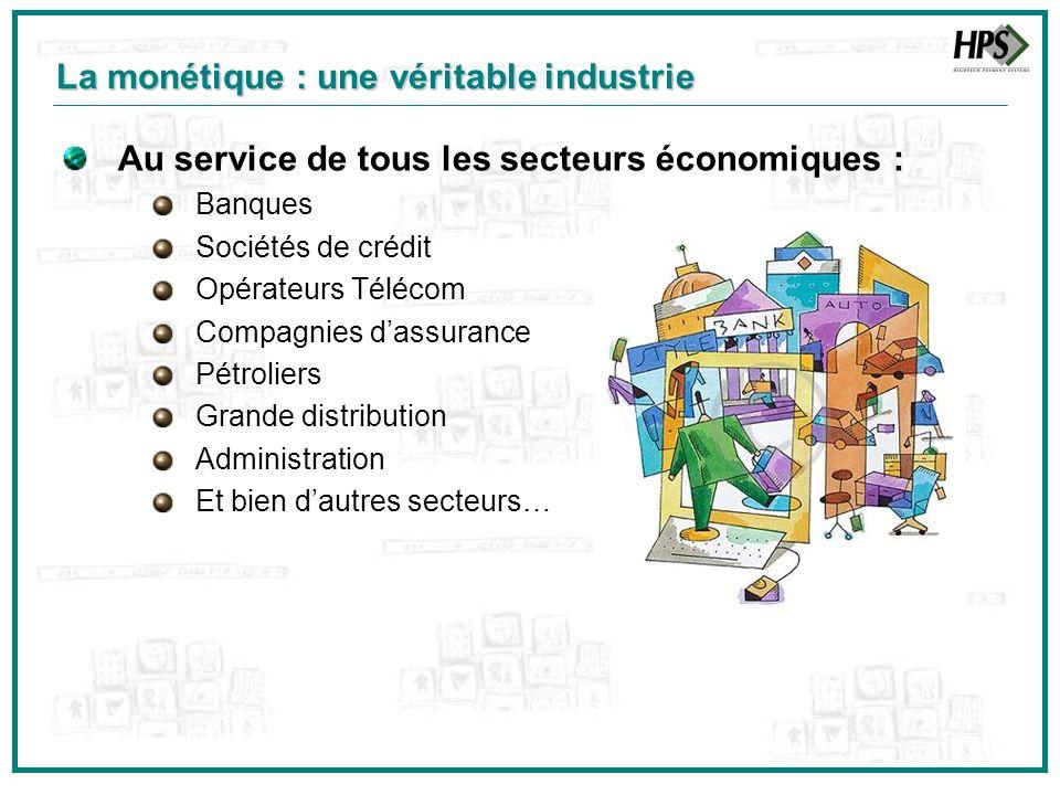 Au service de tous les secteurs économiques : Banques Sociétés de crédit Opérateurs Télécom Compagnies dassurance Pétroliers Grande distribution Admin