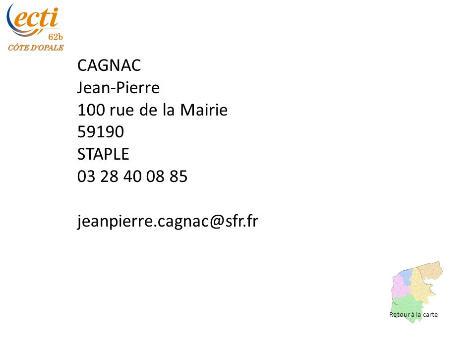 VALERI Gérard 21 rue d Artois 62000 BOULOGNE-SUR-MER 03 21 31 92 49 06 80 20 30 30 g.valeri@orange.fr Retour à la carte