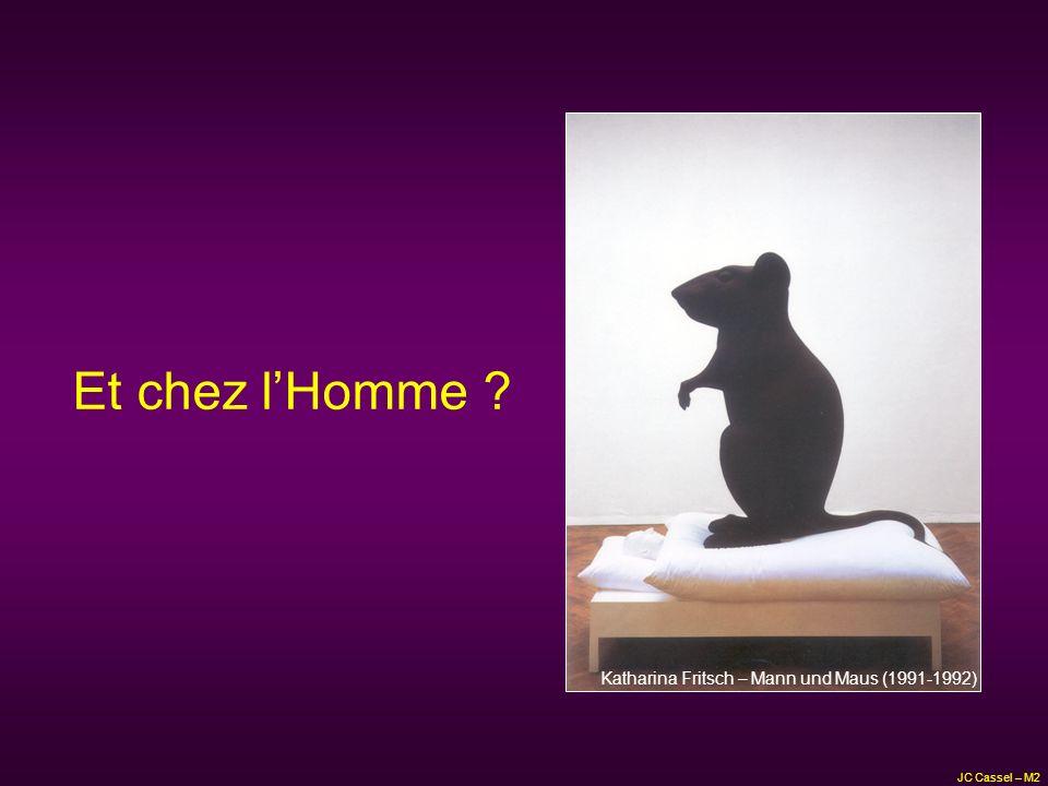 Et chez lHomme ? JC Cassel – M2 Katharina Fritsch – Mann und Maus (1991-1992)