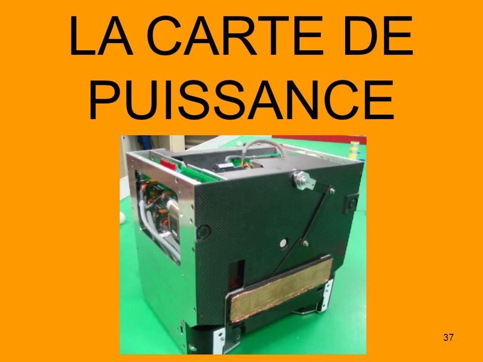 37 LA CARTE DE PUISSANCE