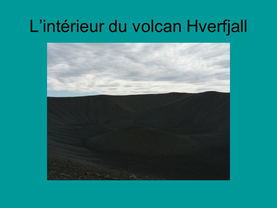 Lintérieur du volcan Hverfjall