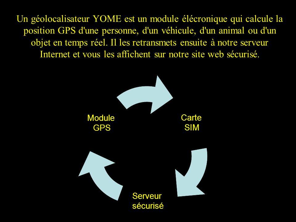 Utilisez l onglet connexion de notre site WWW.YOME.CA pour vous connecter.