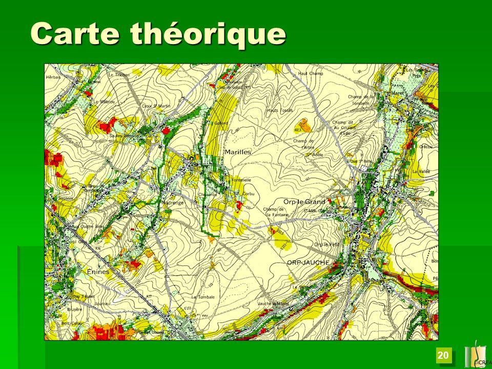 20 Carte théorique