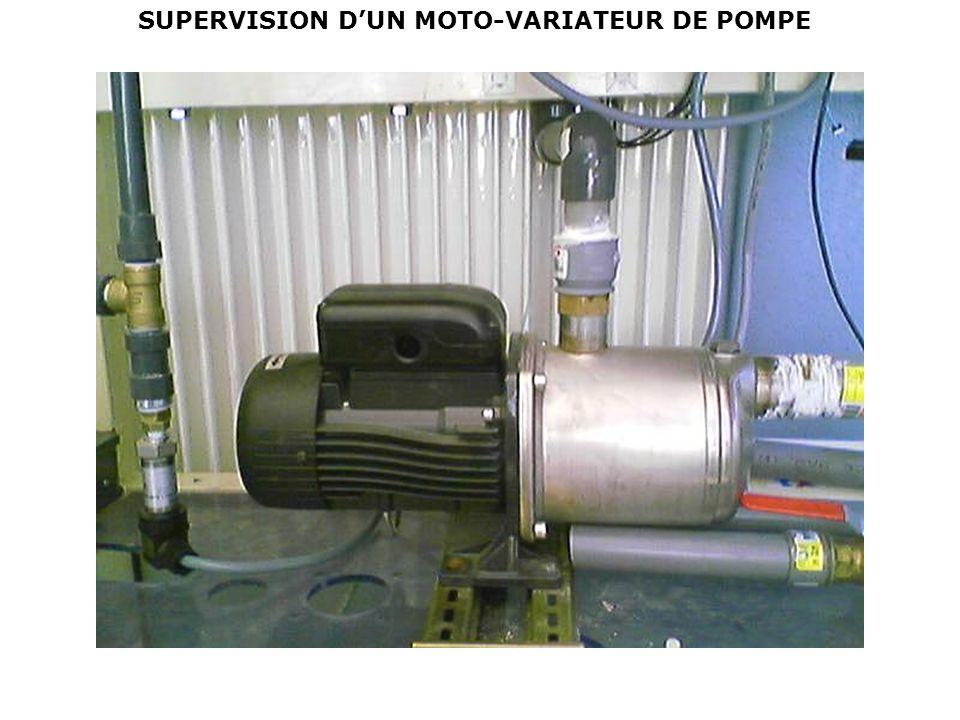SUPERVISION DUN MOTO-VARIATEUR DE POMPE