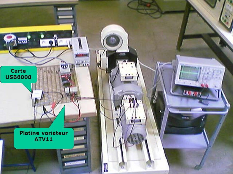Platine variateur ATV11 Carte USB6008