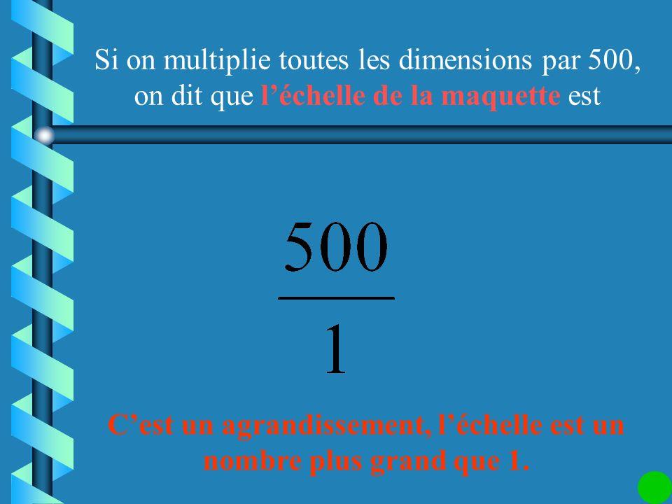 Il faut que tous les nombres soient dans la même unité : 10 cm = 100 mm La largeur de la tête de la mouche est environ 0,2 mm. Si on veut faire un des