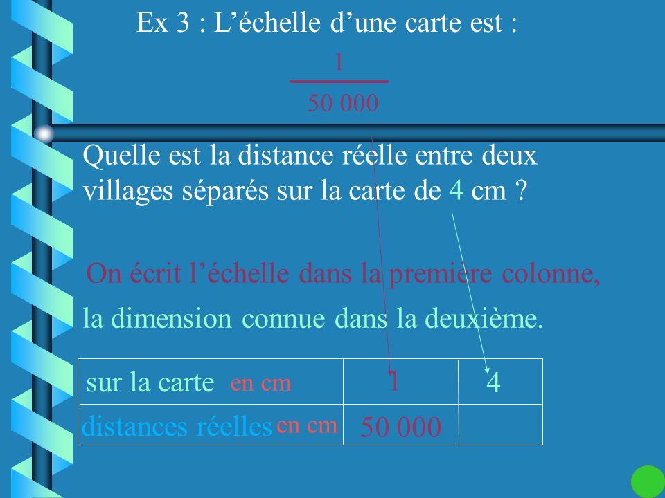 Comment calculer des dimensions quand on connaît léchelle ?