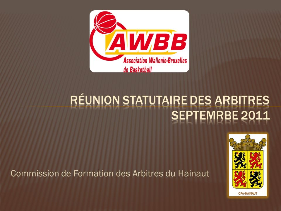 Commission de Formation des Arbitres du Hainaut