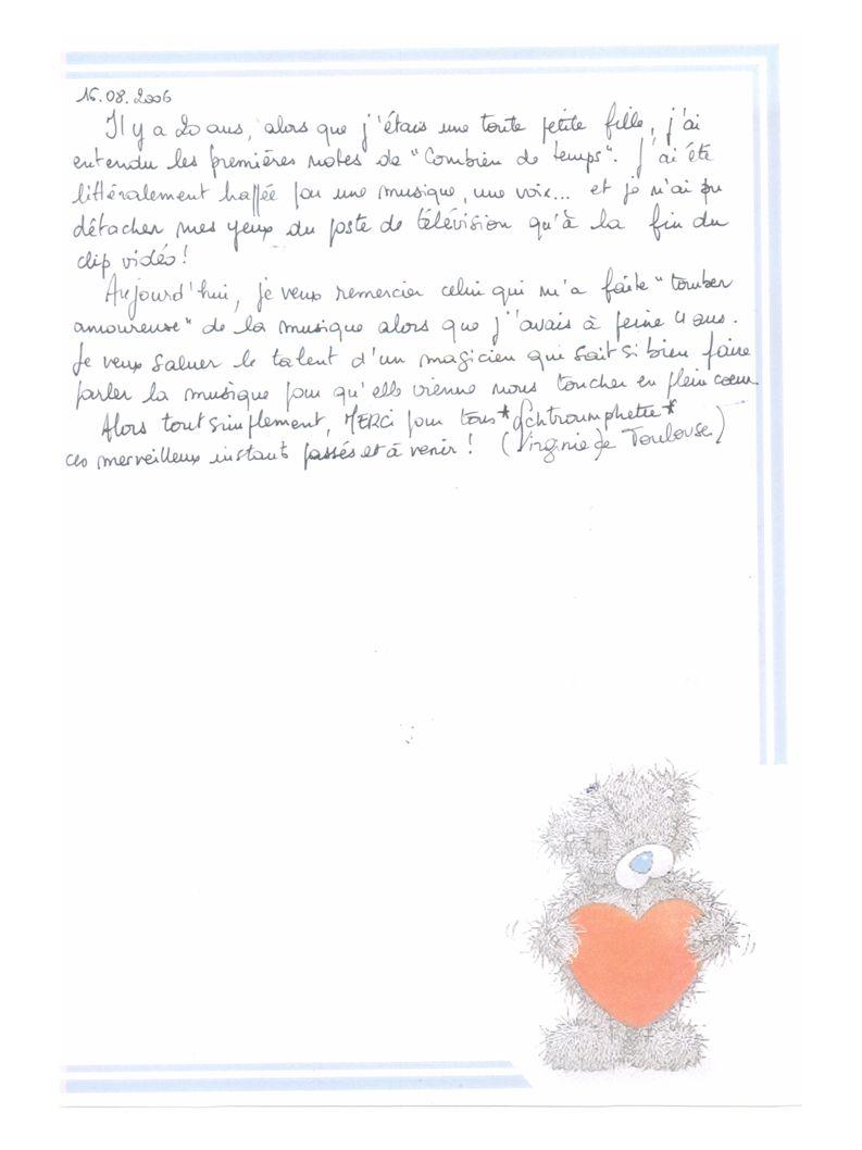 La carte commence alors un tour de Belgique le 02 février 2007 Arrivée en Belgique chez Satori