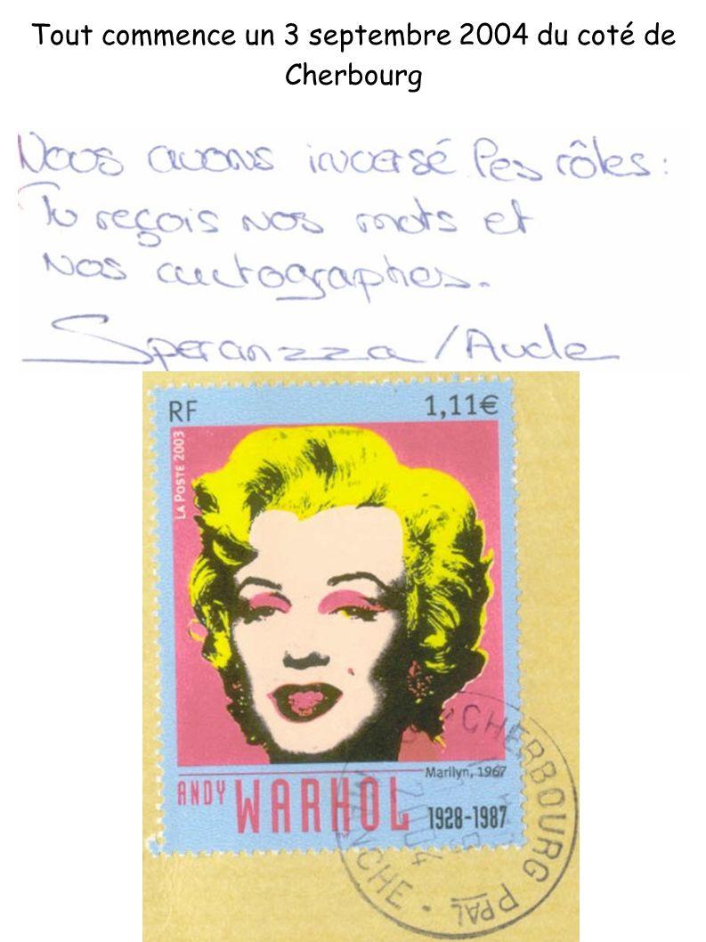 La carte part chez Sira Et la quitte le 14 septembre 2004