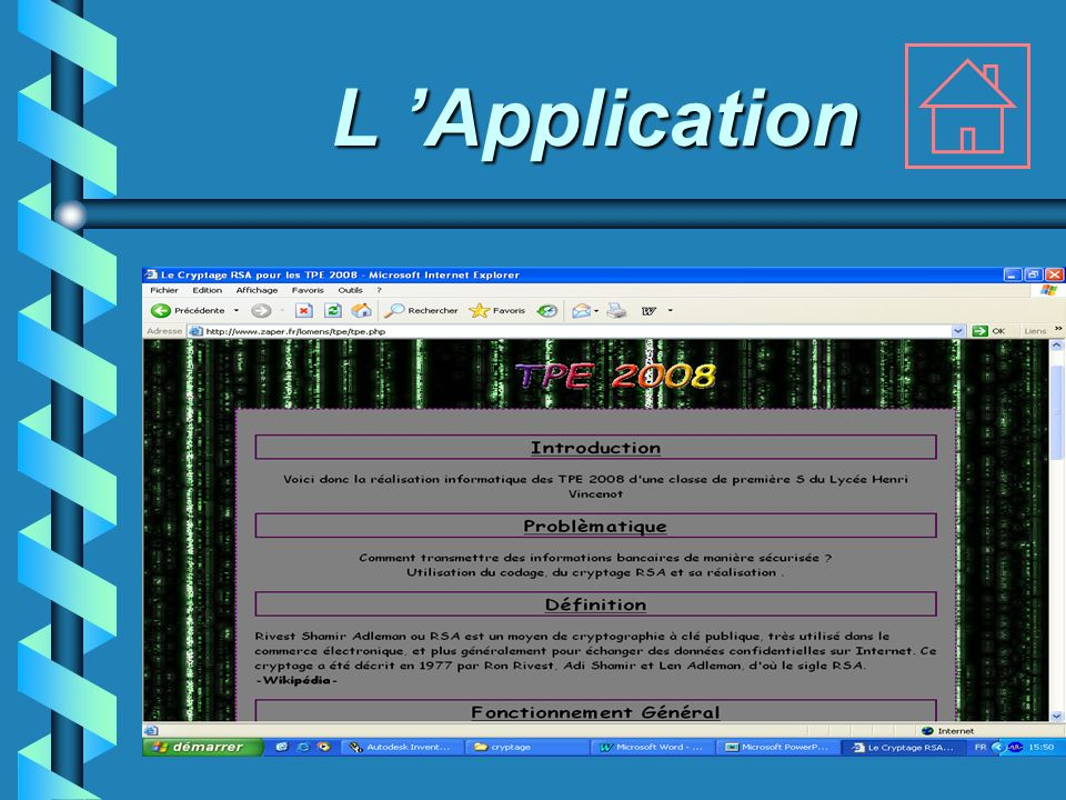 L Application