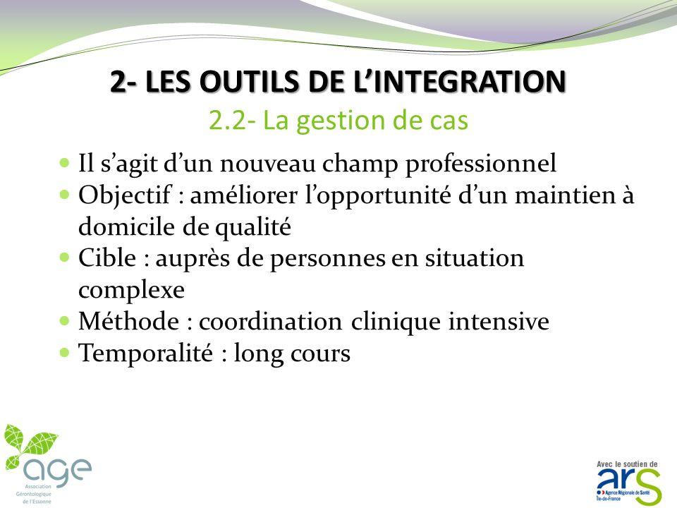 2- LES OUTILS DE LINTEGRATION 2- LES OUTILS DE LINTEGRATION 2.1- Le guichet intégré En conclusion le guichet intégré cest : Un processus commun aux di
